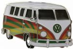 VW Pyschedelic Campervan Officially Licensed Belt Buckle with display stand and presentation box. Code VWVAN01